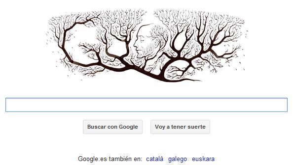 doodle Ramón y Cajal descubridor de la neurona