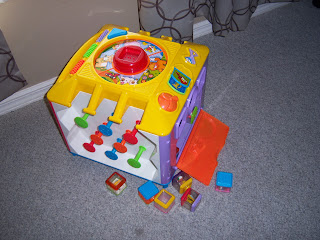 Picture of the Fisher Price Incrediblock