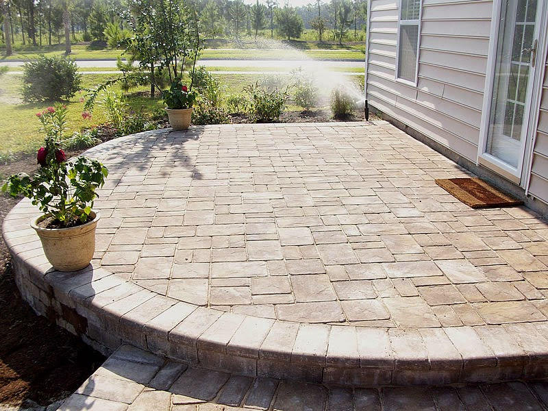 Paver Designs For Patios - Patio Paver Ideas