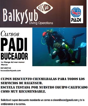 ESCUELA DE BUCEO BALKYSUB