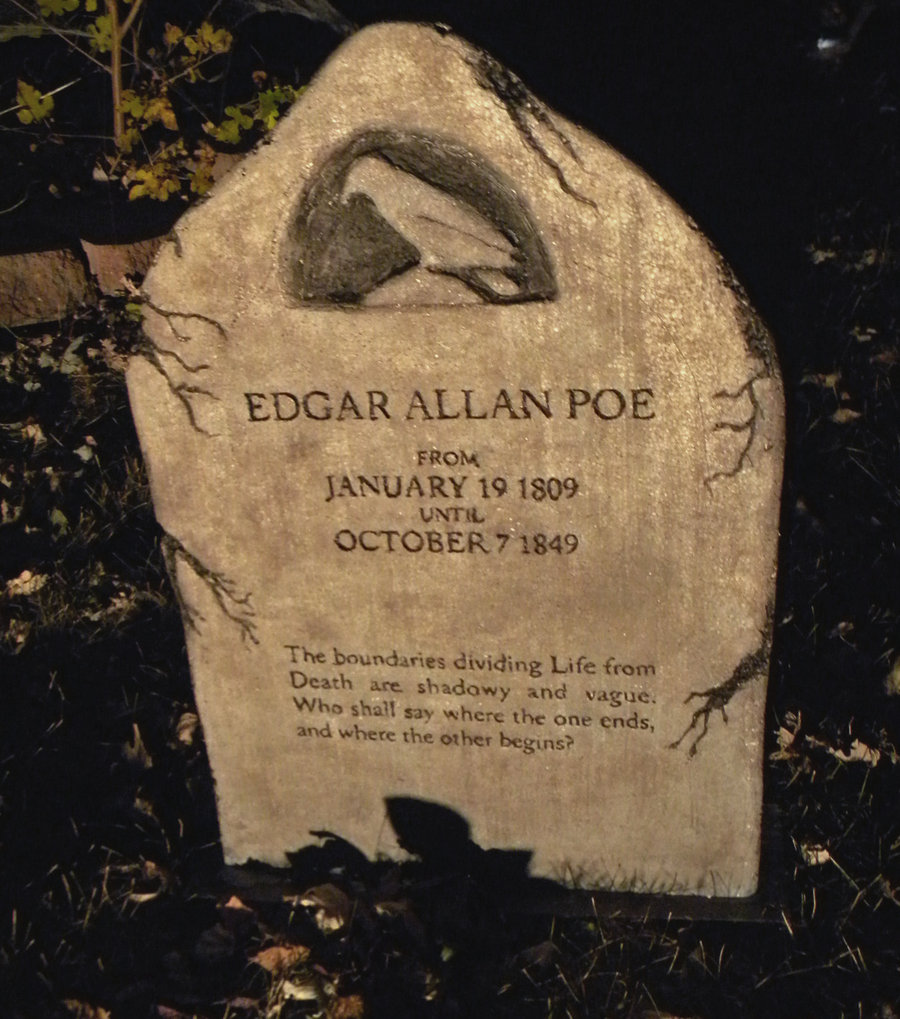 the depiction of death and darkness in edgar allan poes works One of edgar allan poe's most well known poems is annabel lee the theme of death is very apparent in this poem critics have theorized that this poem was influenced by the death of poe's wife virginia.