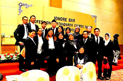 Johore Bar Professional Standards Course Dinner