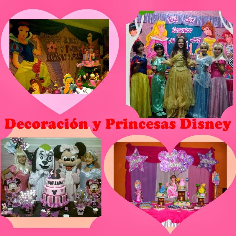 Decoracion cumpleaos princesas disney princesas disney - Decoracion fiesta princesas disney ...