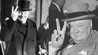 Два пальца вверх «V»