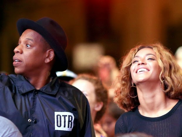 Beyoncé and Jay-Z in music festival