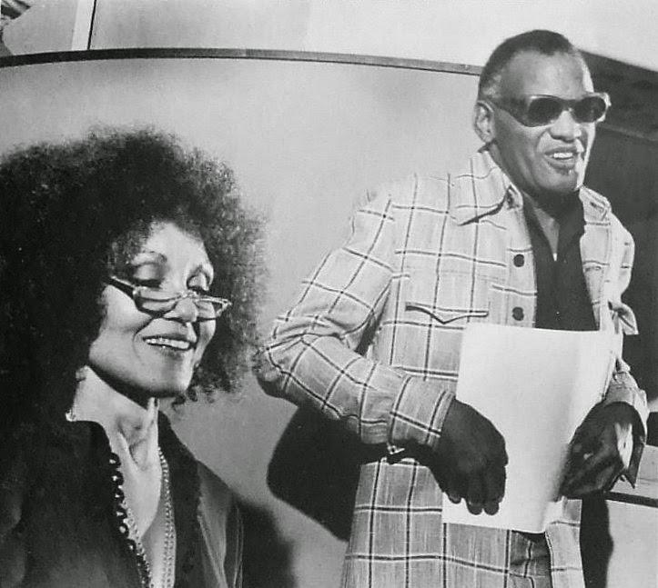 Ray Charles Wife Bespectacled Bi...