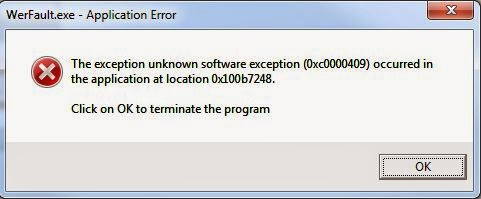 Cara untuk memperbaiki kesalahan WerFault.exe