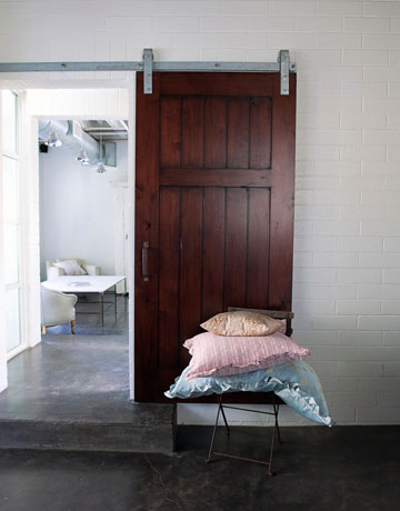 A flippen life sliding doors for Barn doors to separate rooms