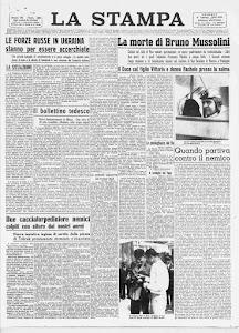 LA STAMPA 8 AGOSTO 1941
