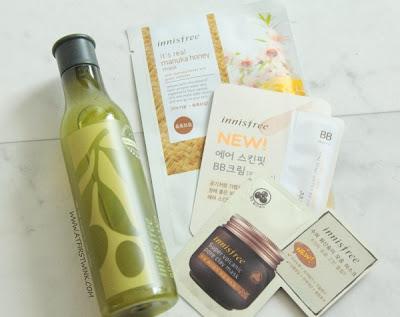 Innisfree olive toner