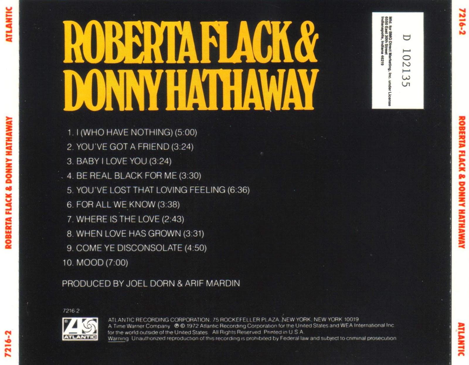 Roberta Flack  Donny Hathaway Roberta Flack Donny Hathaway