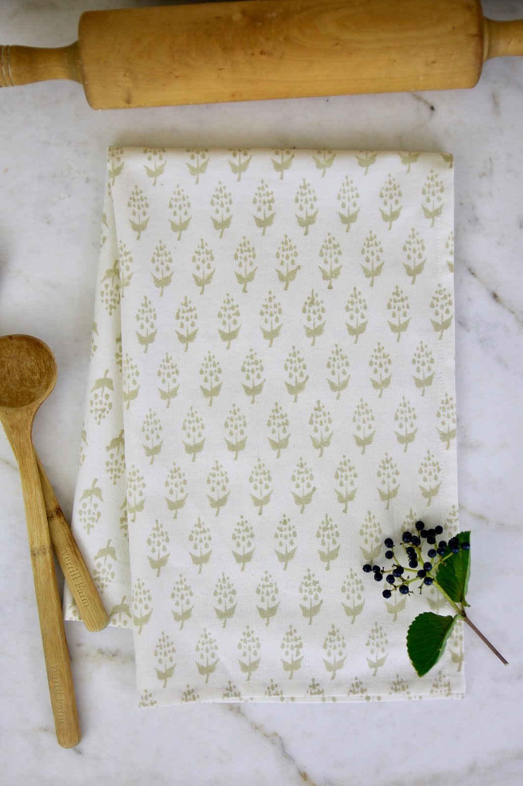Block Print Tea Towels, $8
