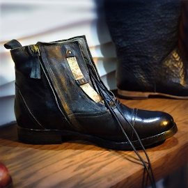 Sfizi ankle boots curated by Ann Sedgwick at Delicious Shoe.