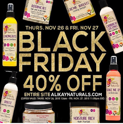 Natural hair black friday 2015