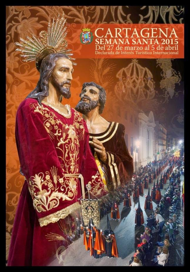 Cartel Semana Santa de Cartagena 2015