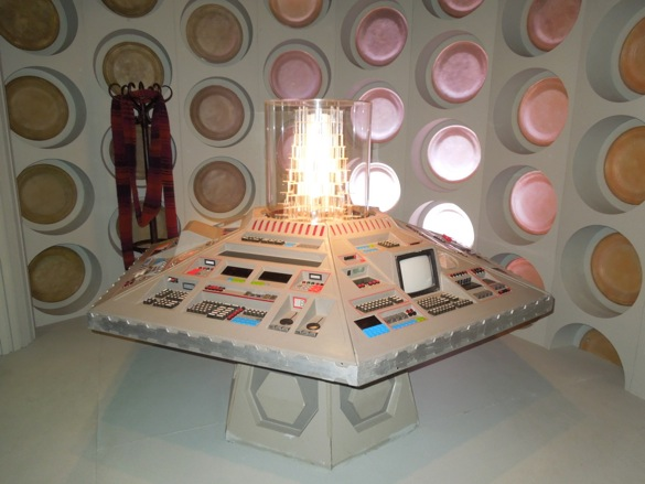 5th-7th Doctor TARDIS interior