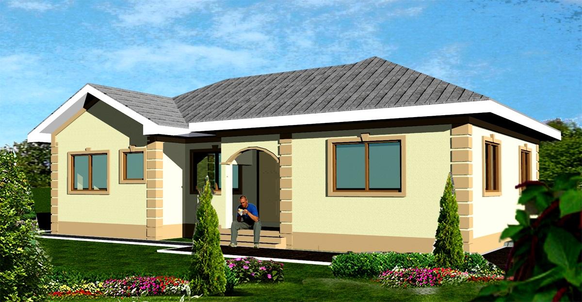 Modelos de casas dise os de casas y fachadas fotos de for Fotos de casas modernas de una planta