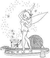 Para Pintar Tinkerbell Da Disney Para Colorir Tinker Bell E As Fadas