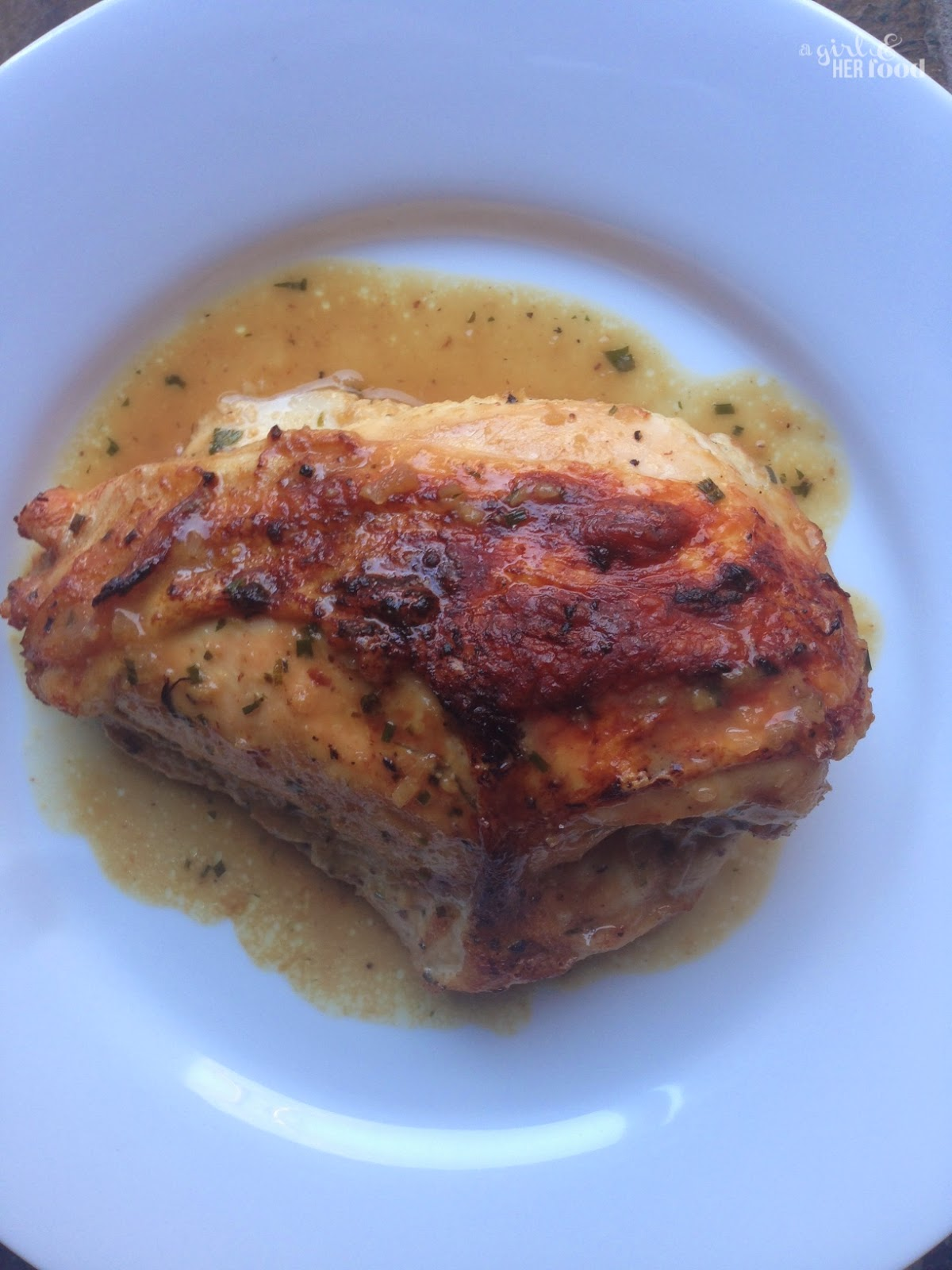 A Girl & Her Food: Miso Roasted Chicken