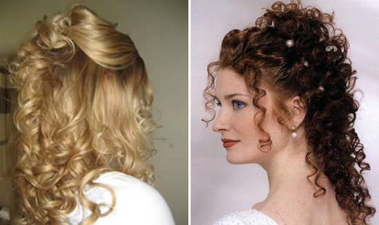 Bridal Hairstyle and Makeup: 4 Perm Bridal Hair-styles