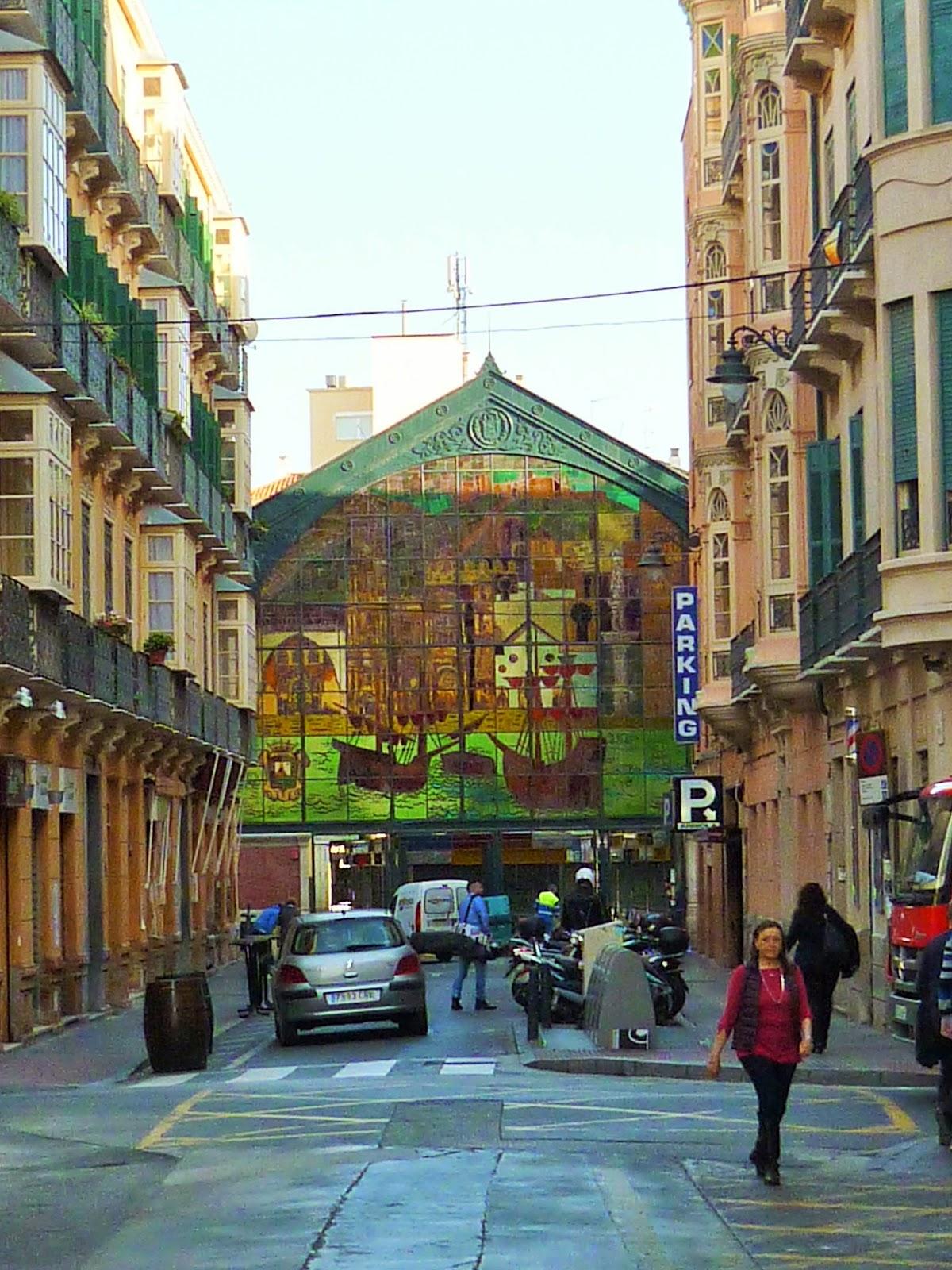Le marché couvert Atarazanas - Malaga - Espagne