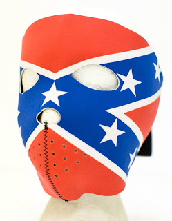 Rebel Flag Face Mask