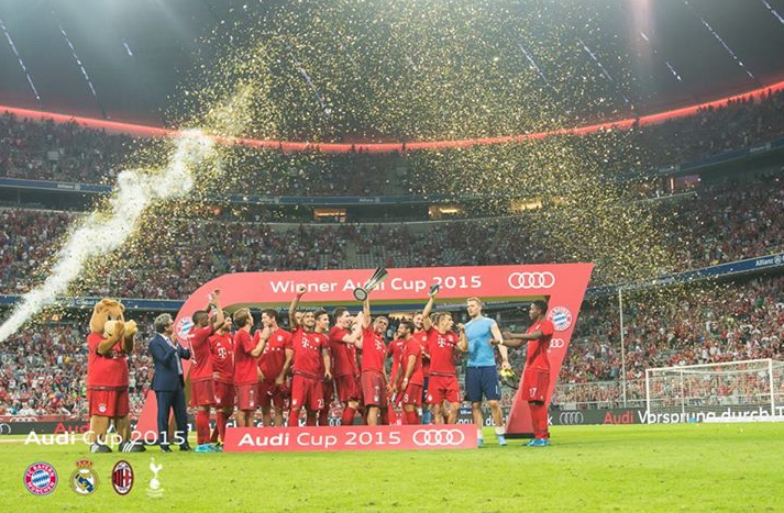 Hasil Final Audi Cup: Bayern München 1-0 Real Madrid