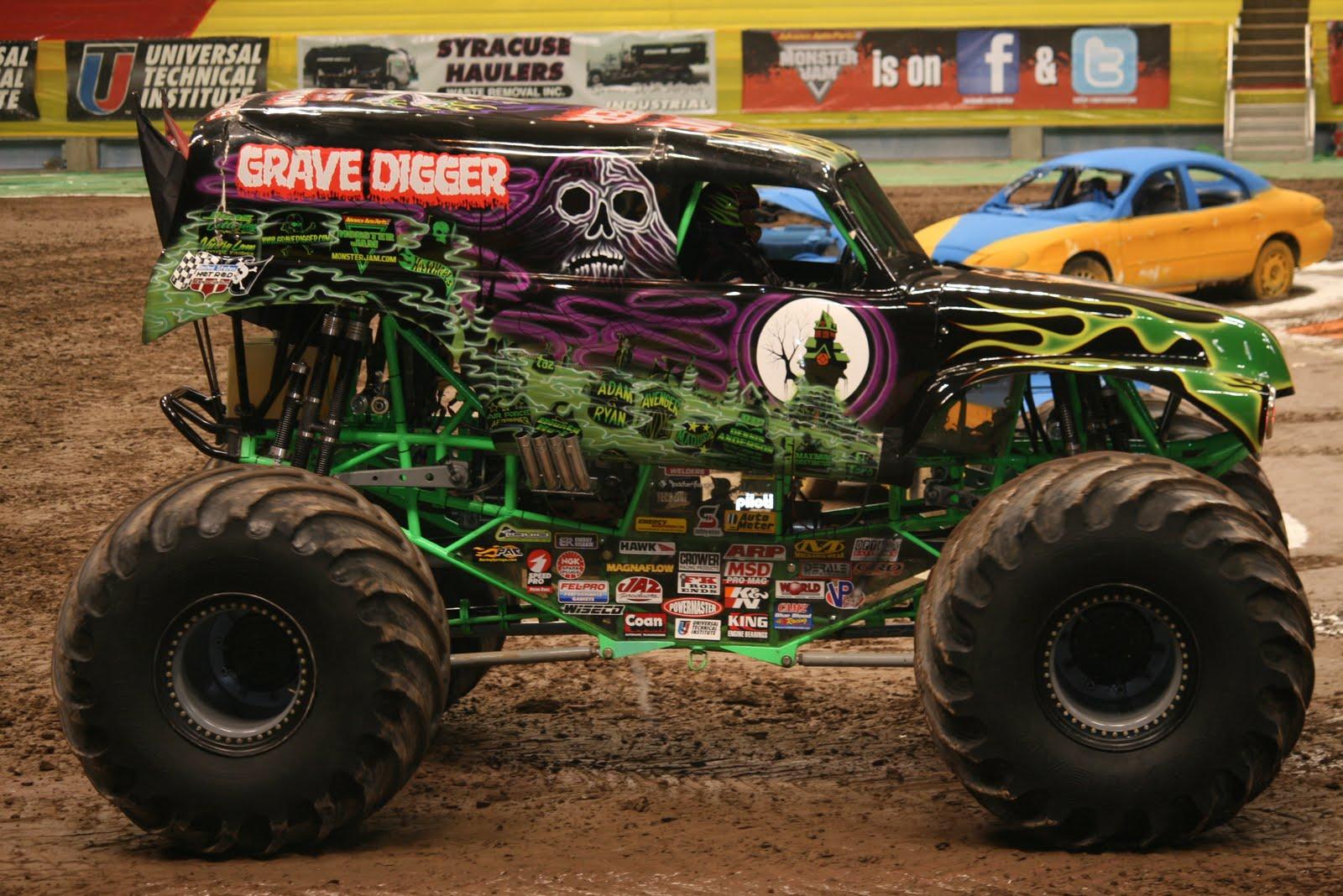 Ausmalbild Madusa Monster Truck: 1600 X