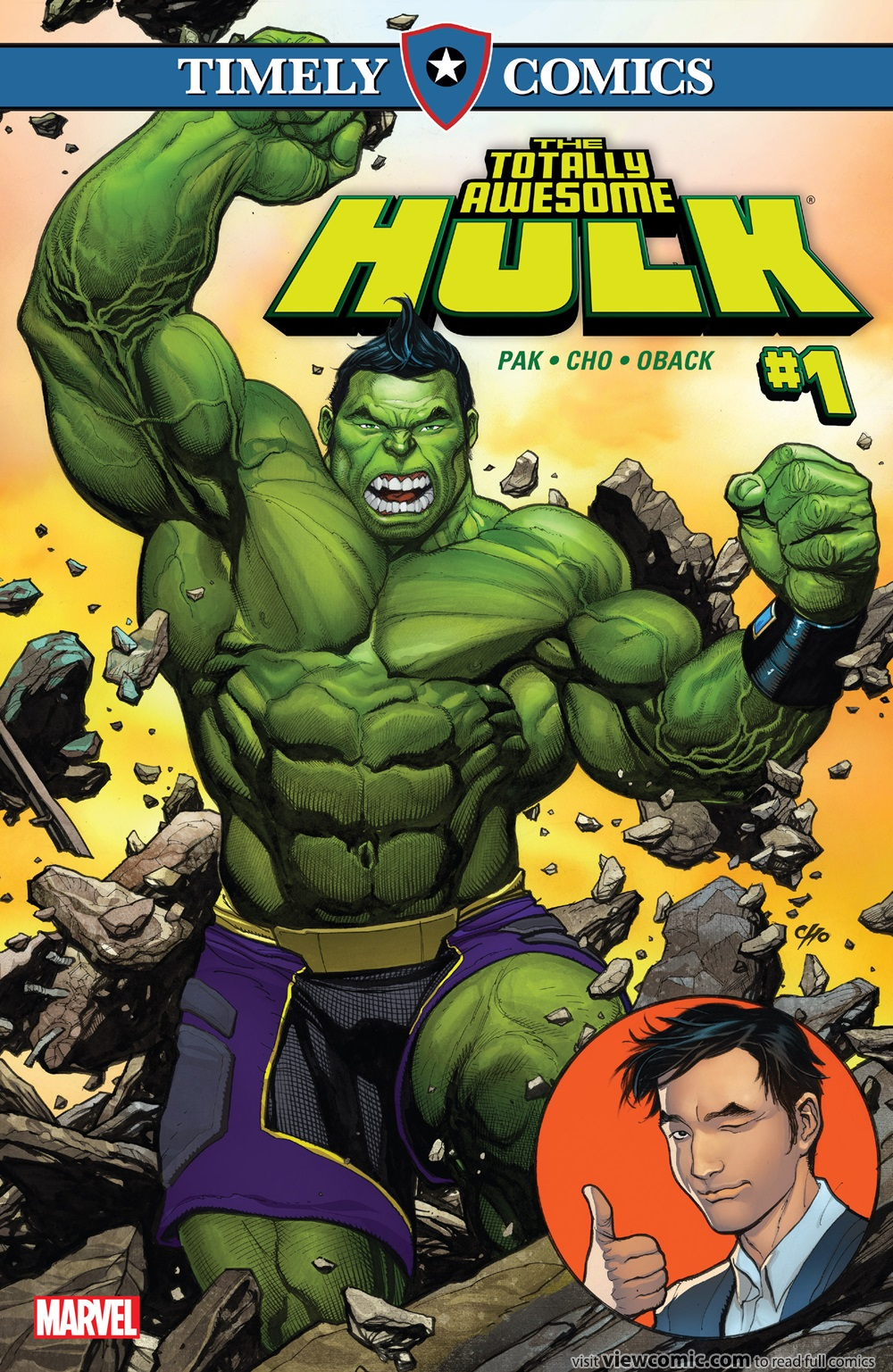 Timely Comics The Totally Awesome Hulk