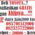 Promo Akhir Tahun Toyota di Kota Bogor