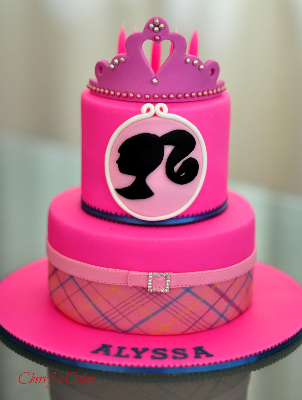 Cherry's Cakes: Barbie Princess Charm School