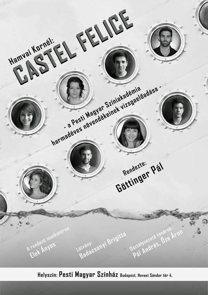 Castel Felice vizsga - plakát