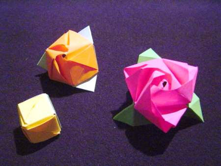 Make easy art and craft ideas make easy art and craft ideas origami flower steps 3d mightylinksfo