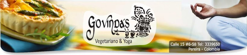 Restaurante Vegetariano y Escuela de Yoga Govindas Pereira