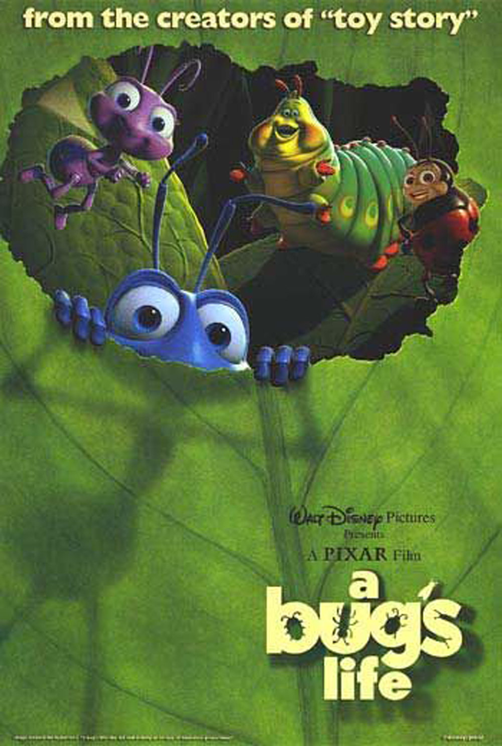This is a photo of Universal A Bug's Life Poster