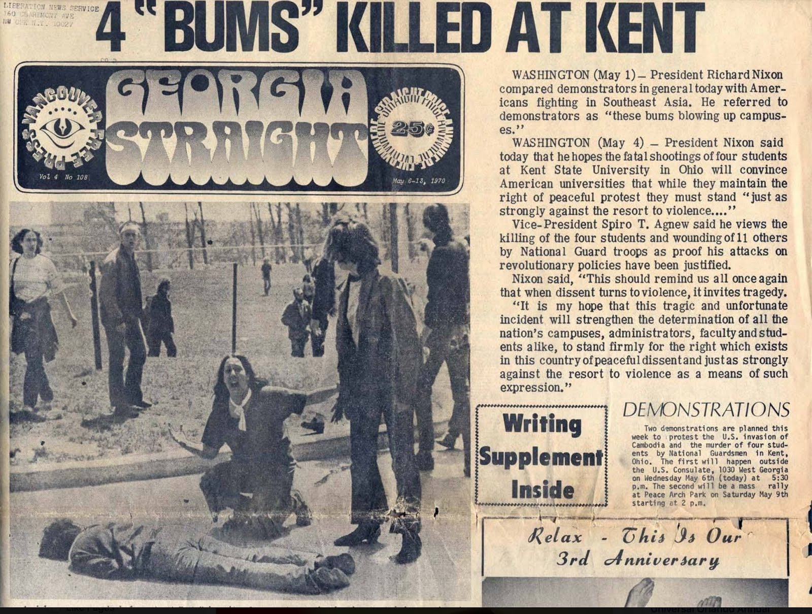 kent state shooting essay Kent state shootings essay  kent state shootings the kent state shootings, also called the kent state massacre, occurred on may 4, 1970 on the campus of kent state university in the city of kent, ohio - kent state shootings essay introduction.