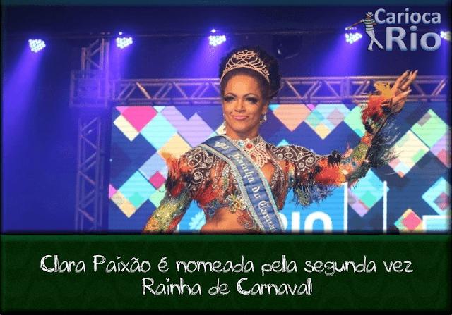Rainha de Carnaval Carioca - Clara Paixão