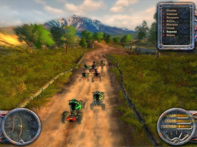 Motocross ATV Quadro-Racing PC Games Free Version