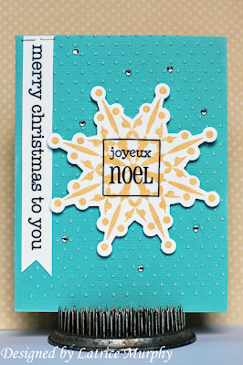 SRM Blog - Holiday Cards by Latrice - #Stickers #Christmas #Sentiments #Fancy #Gingerbread