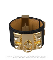 Hermes Bracelet Leather4