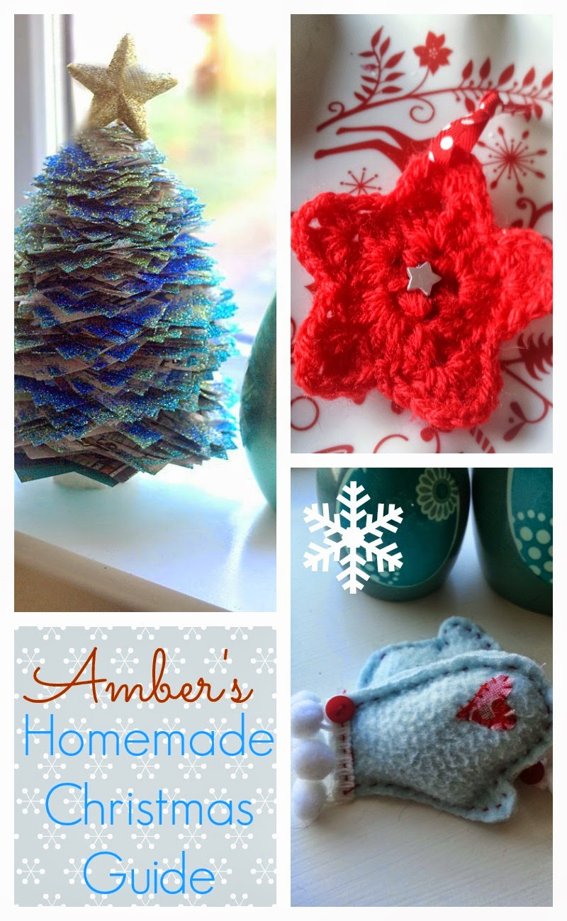 This Year It Was Crochet Stars So Easy To Make Up And Look Great On The Tree Hope You Enjoy These Home Made Christmas Guide Decorations