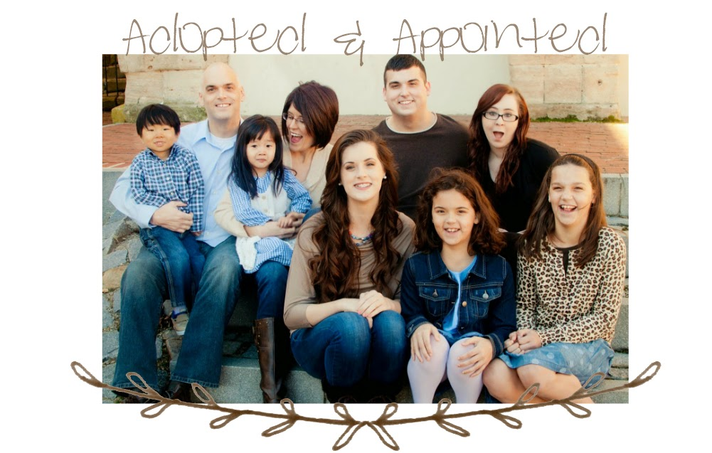 Adopted and Appointed