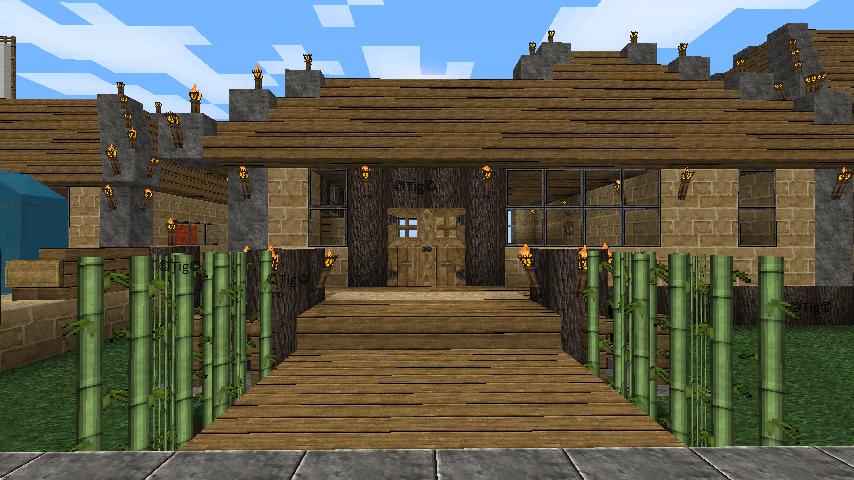 bienvenue sur minecraft bambou maison argile 19 05 11. Black Bedroom Furniture Sets. Home Design Ideas