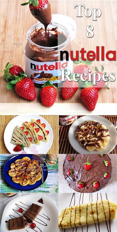 Top 8 Nutella Recipes أفضل 8 وصفات لنوتيلا