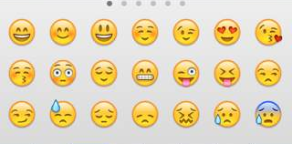 iOS Emoji Emoticons