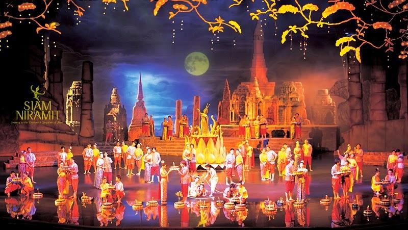 panggung siam niramit di bangkok