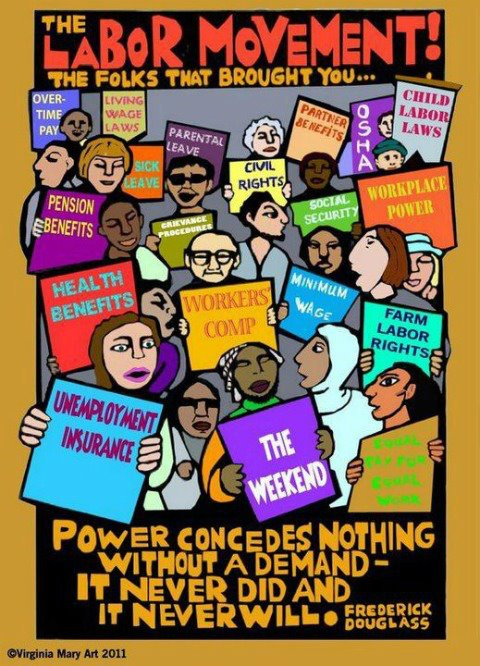 labor movement 13022018 as union membership declines, the gig economy continues to grow, and automation becomes an increasing priority, the labor rights movement in the us faces.