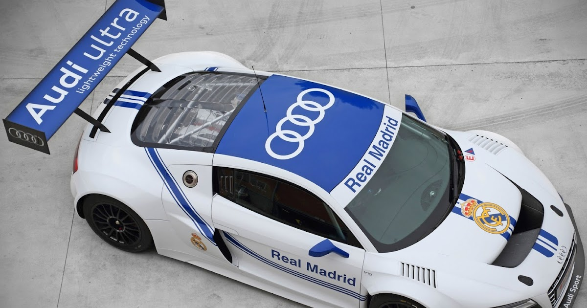 All Cars Nz Audi R8 Lms Ultra Gt3 Real Madrid Edition 2012
