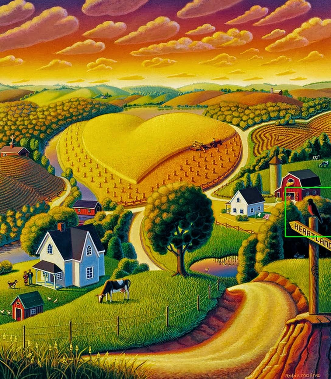 cuadros modernos pinturas y dibujos pinturas de paisajes