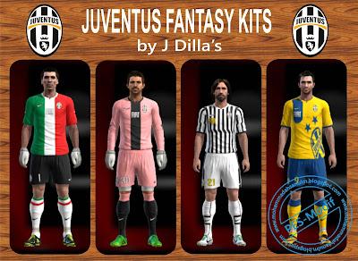 Juventus Fantasy Kits by J Dilla's